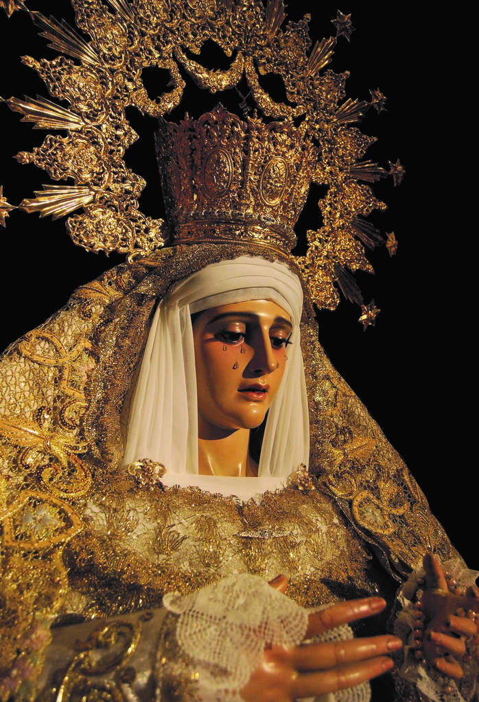 Imagen de Nuestra Señora de la Esperanza de la ciudad de Andújar (Jaén)